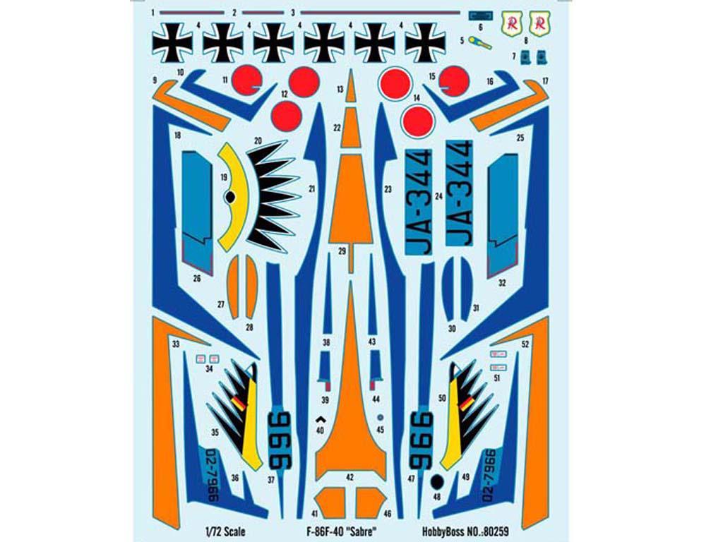 """F-86F-40 """" Sabre"""" (Vista 3)"""