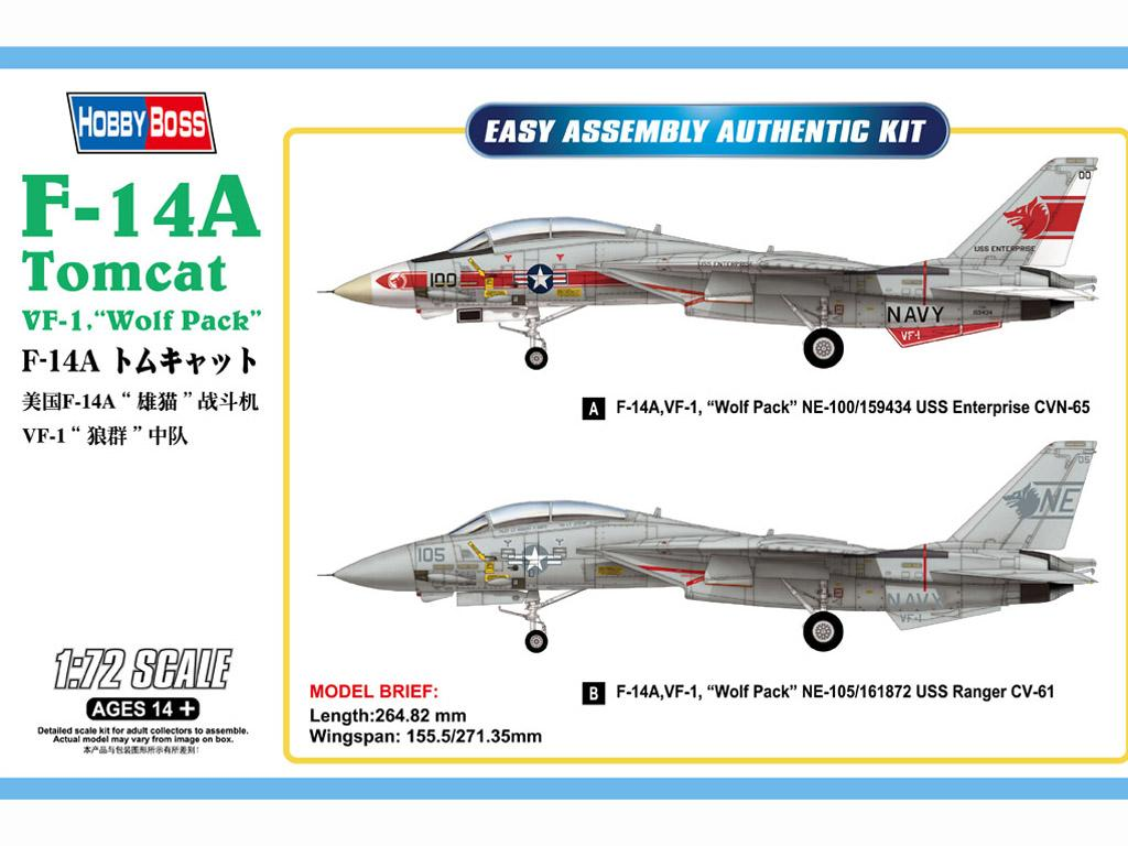 F-14A Tomcat VF-1 (Vista 1)