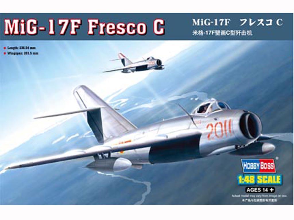 MiG-17F Fresco C (Vista 1)