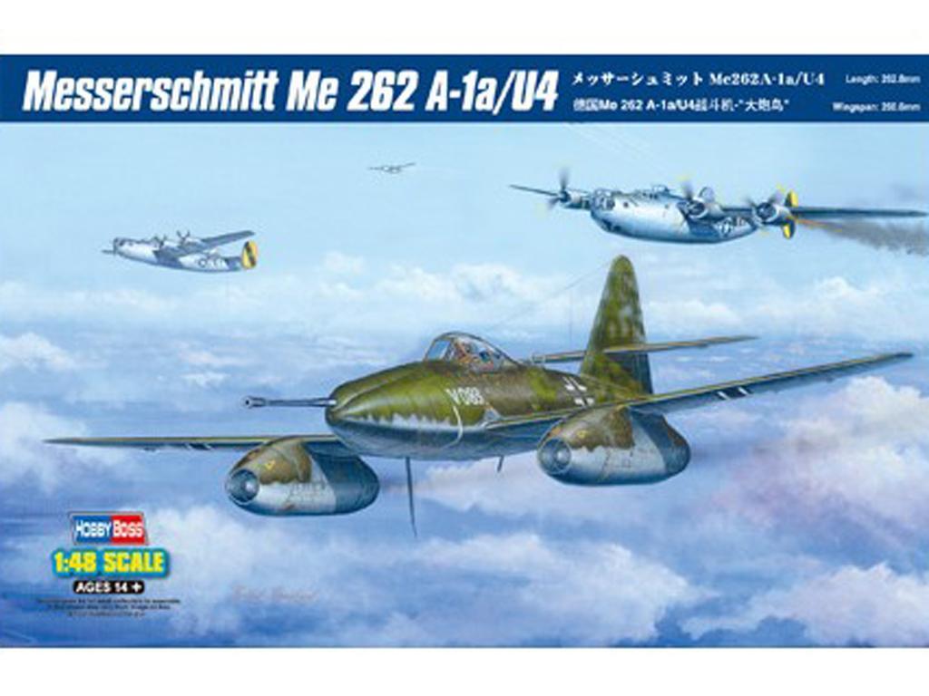 Messerschmitt Me 262 A-1a/U4 (Vista 1)