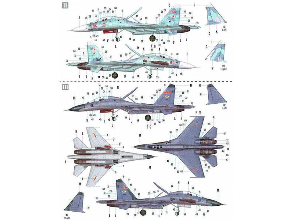 Su-27UB Flanker C (Vista 4)