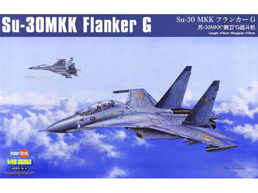 Su-30MKK Flanker G (Vista 1)