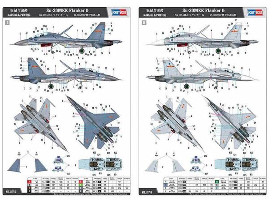 Su-30MKK Flanker G (Vista 3)