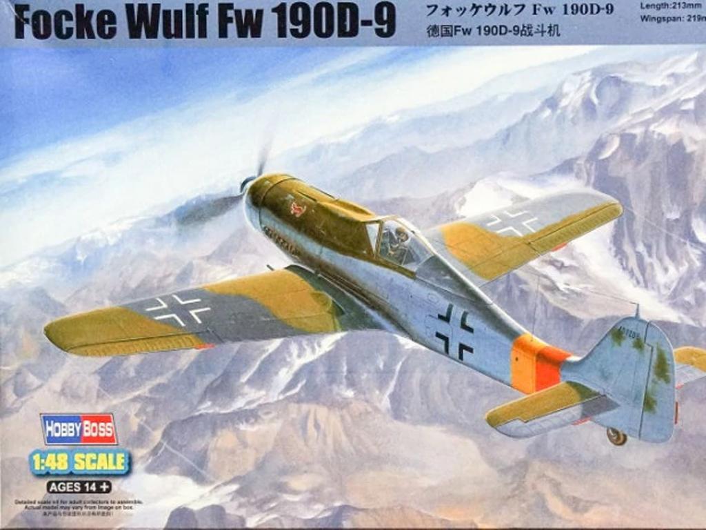 Focke Wulf Fw 190D-9 (Vista 1)