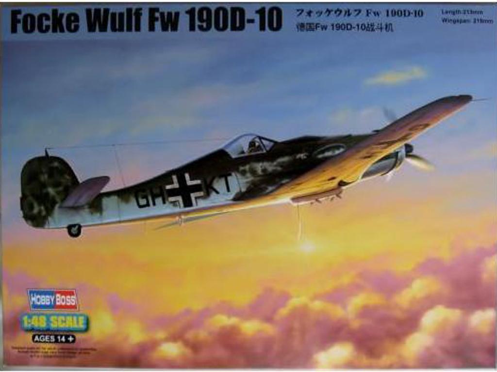Focke-Wulf FW190D-10 (Vista 1)