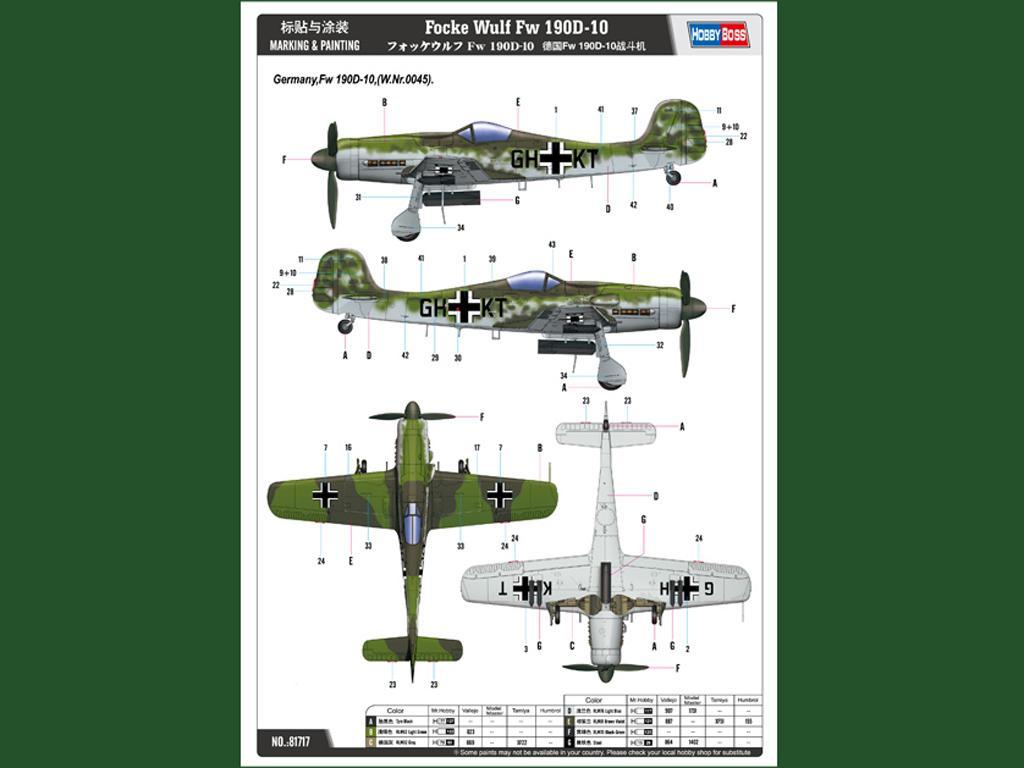 Focke-Wulf FW190D-10 (Vista 2)