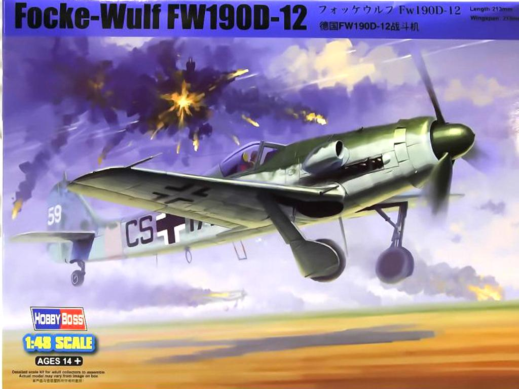 Focke-Wulf FW190D-12 (Vista 1)