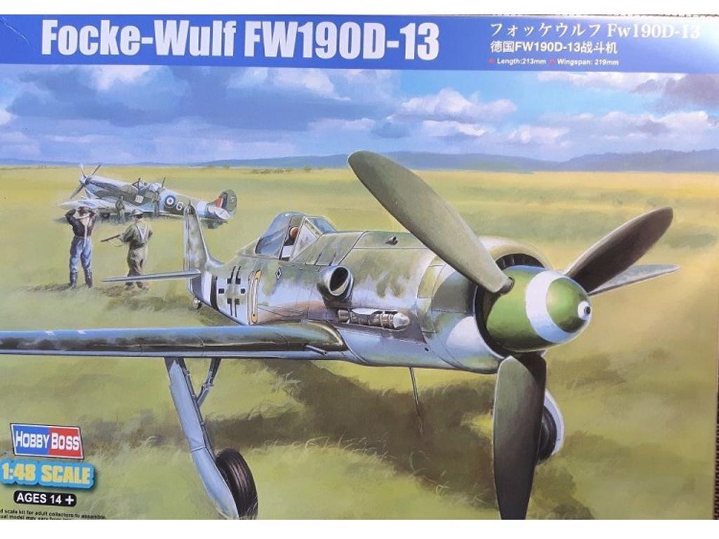 Focke-Wulf FW190D-13 (Vista 1)