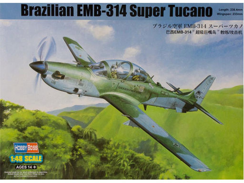 Brazilian EMB-314 Super Tucano (Vista 1)