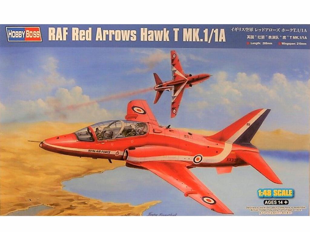 Red Arrows Hawk T Mk.1/1A (Vista 1)