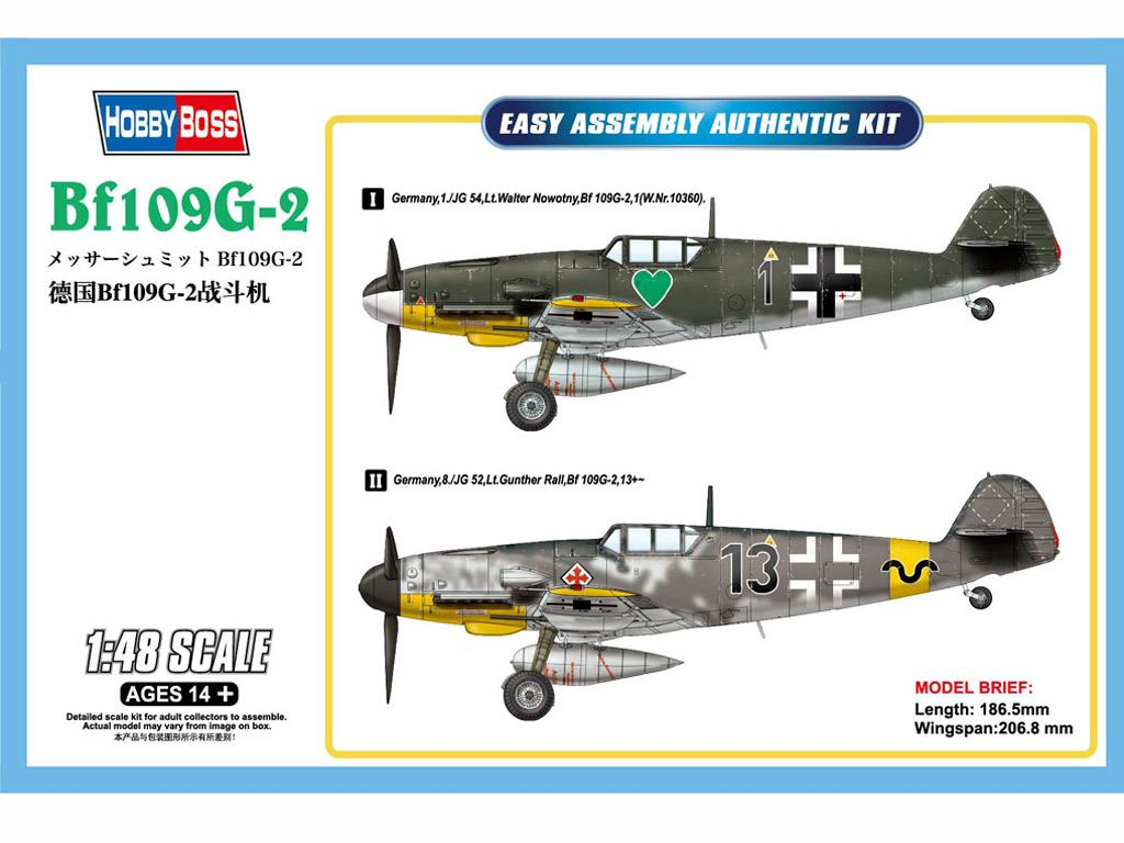 Messerschmitt Bf-109G (Vista 1)