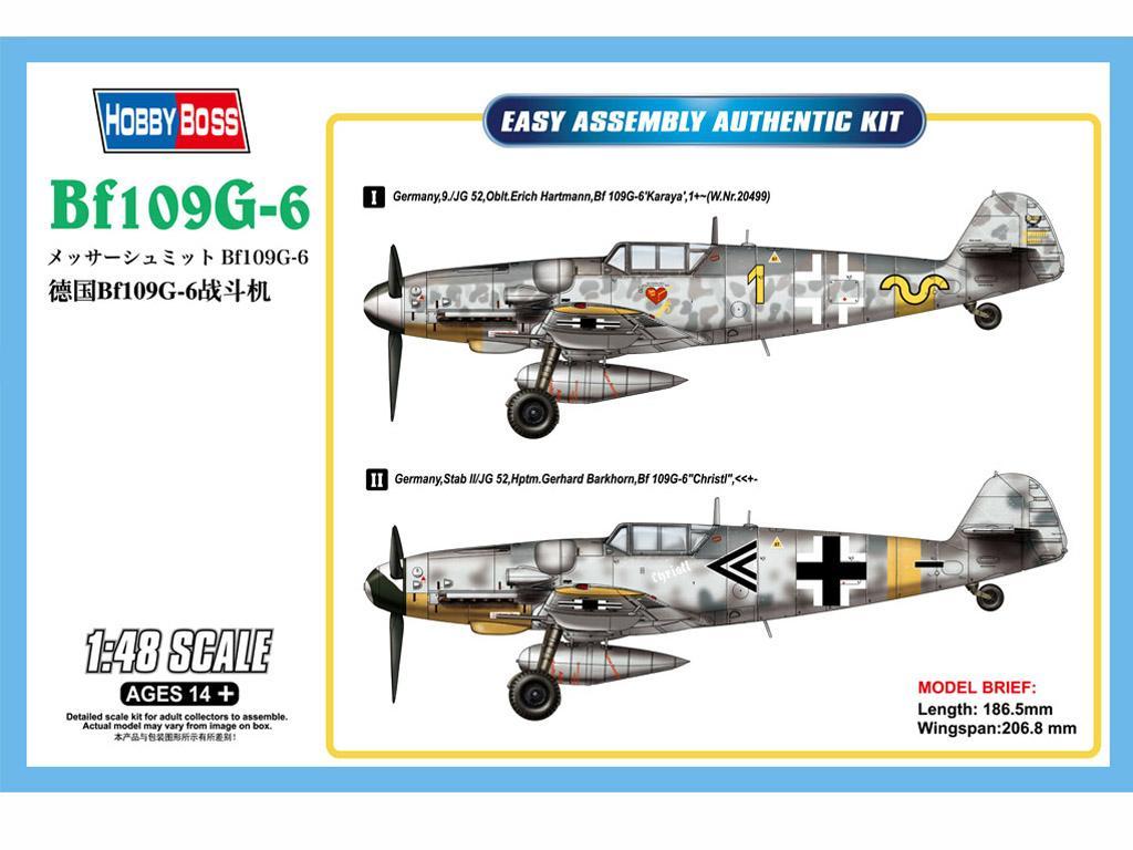Messerschmitt Bf-109G-6 (Vista 1)