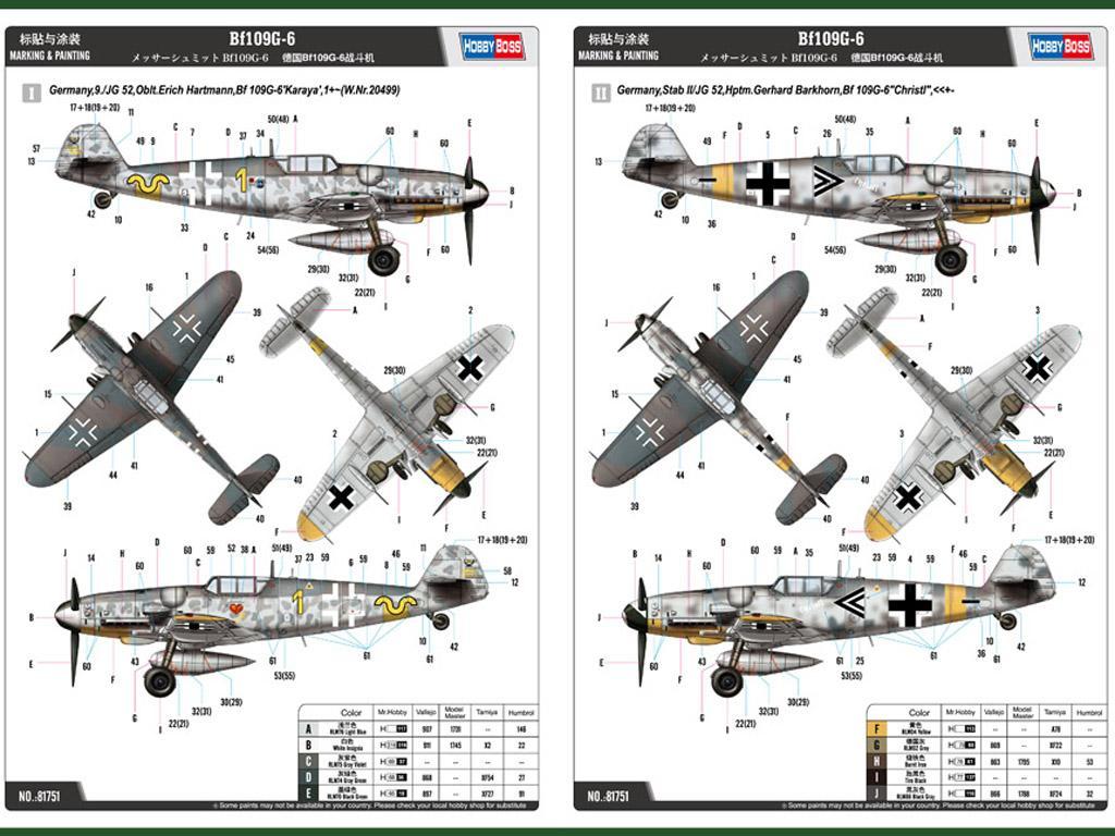 Messerschmitt Bf-109G-6 (Vista 3)