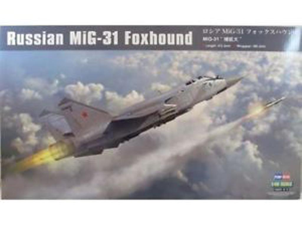 Russian Mig-31 Foxhound (Vista 1)