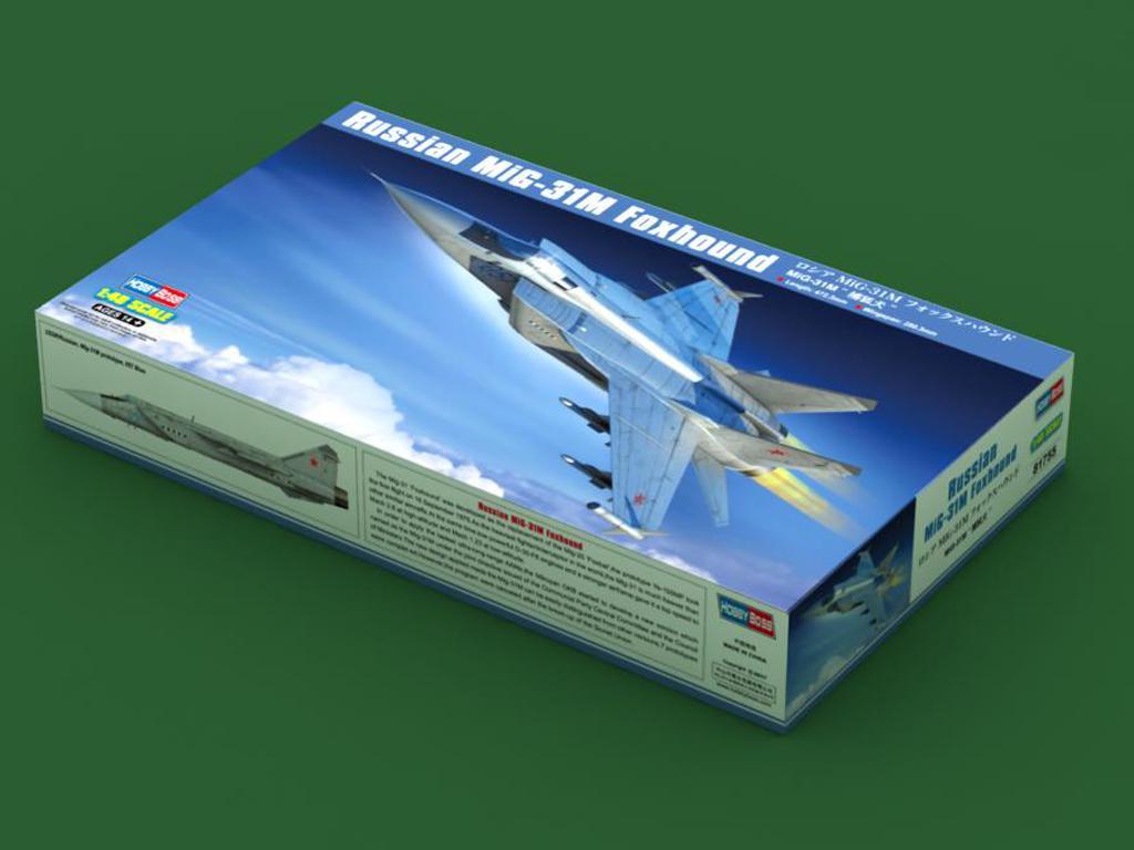 Russian MiG-31M Foxhound (Vista 1)