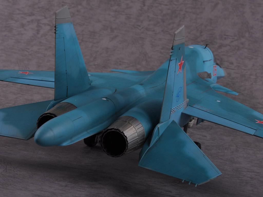 Russian Su-34 Fullback Fighter-Bomber (Vista 10)