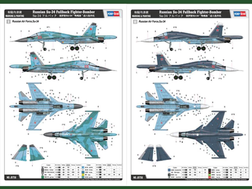 Russian Su-34 Fullback Fighter-Bomber (Vista 4)