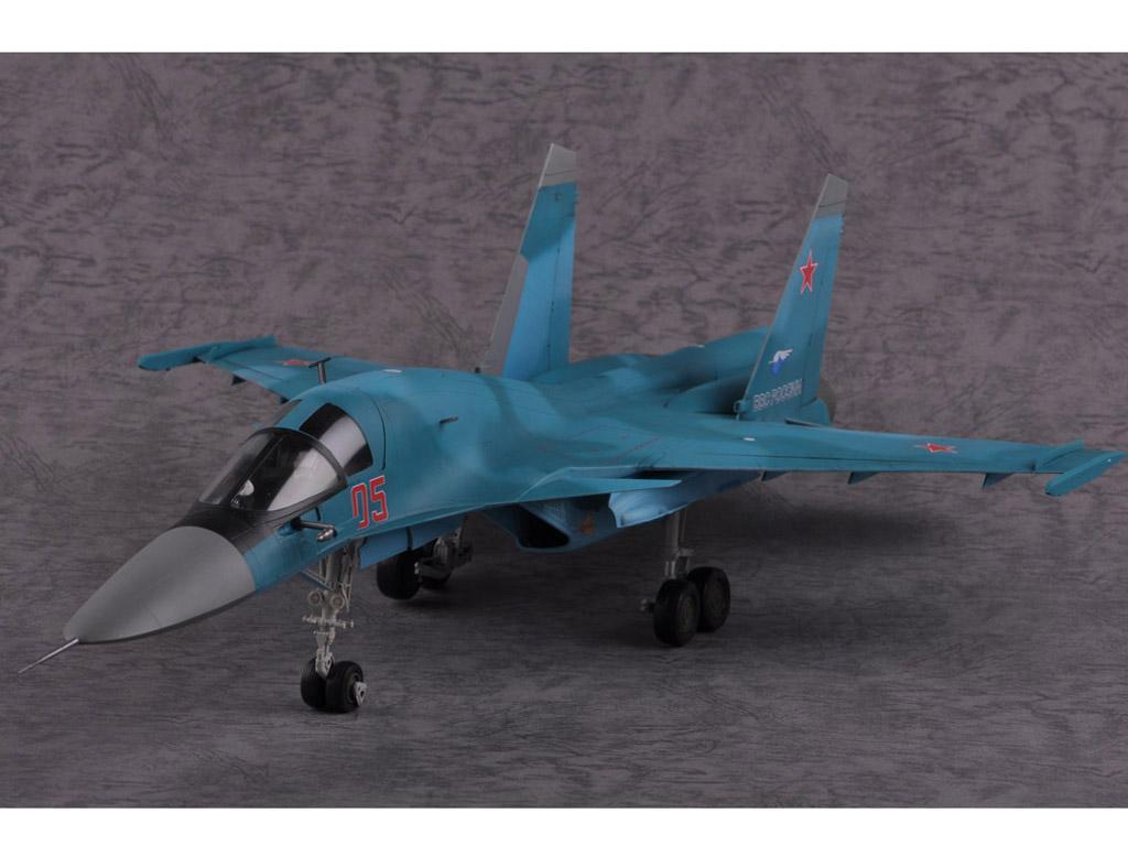 Russian Su-34 Fullback Fighter-Bomber (Vista 6)