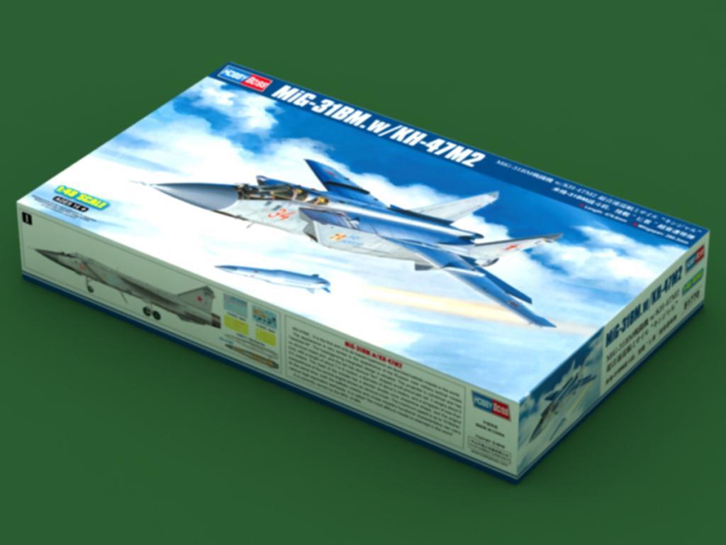 MiG-31BM. w/KH-47M2 (Vista 1)