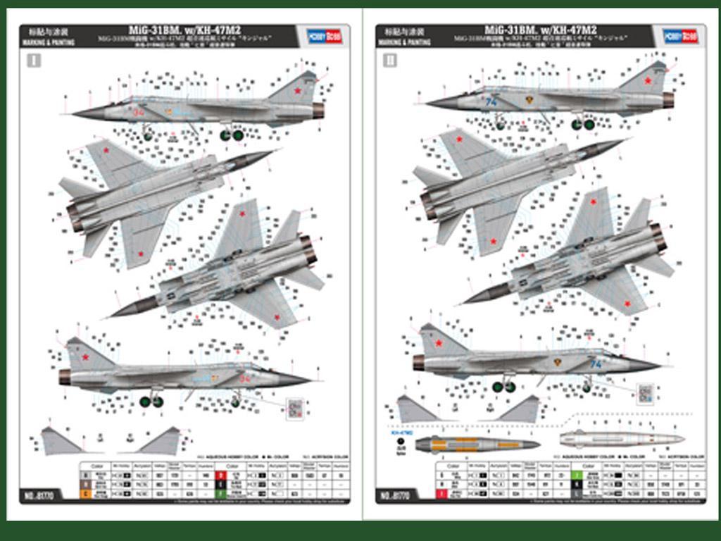 MiG-31BM. w/KH-47M2 (Vista 2)