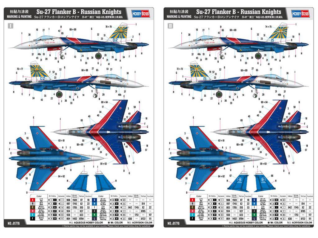 Su-27 Flanker B - Russian Knights  (Vista 2)
