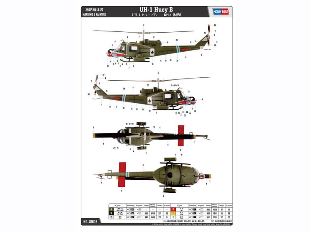 UH-1 Huey B (Vista 2)