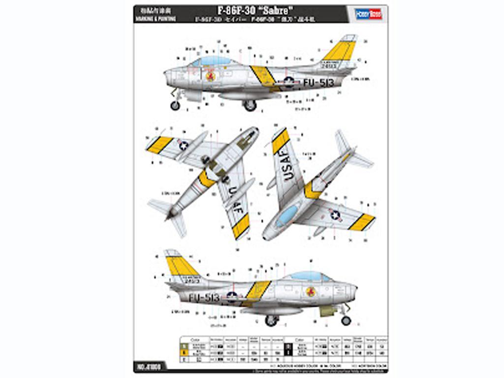 F86F-30 Sabre (Vista 3)