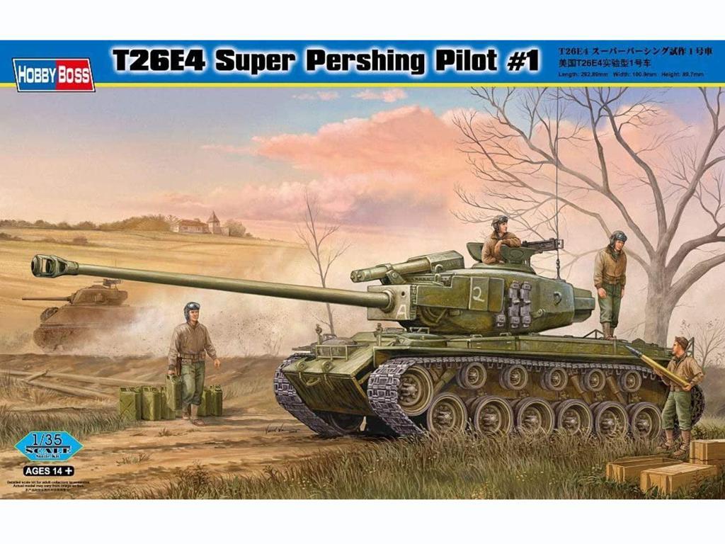 T26E4 Super Pershing, Pilot #1  (Vista 1)
