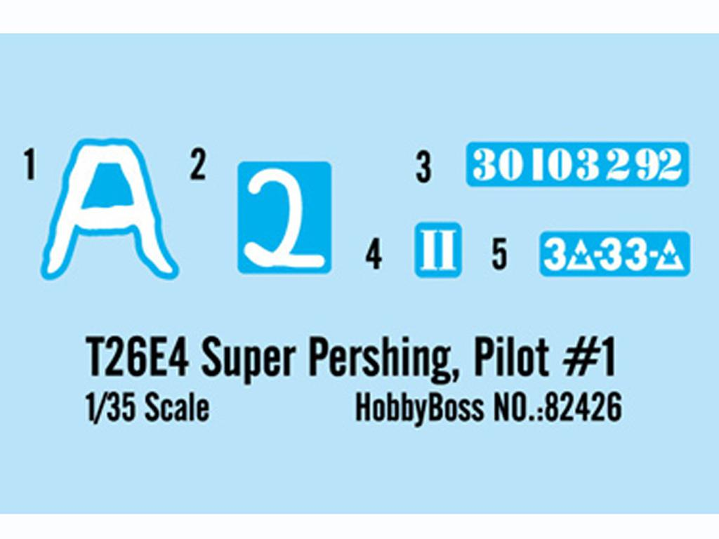 T26E4 Super Pershing, Pilot #1  (Vista 2)