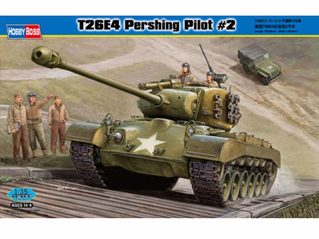 T26E4 Pershing, Pilot #2  (Vista 1)