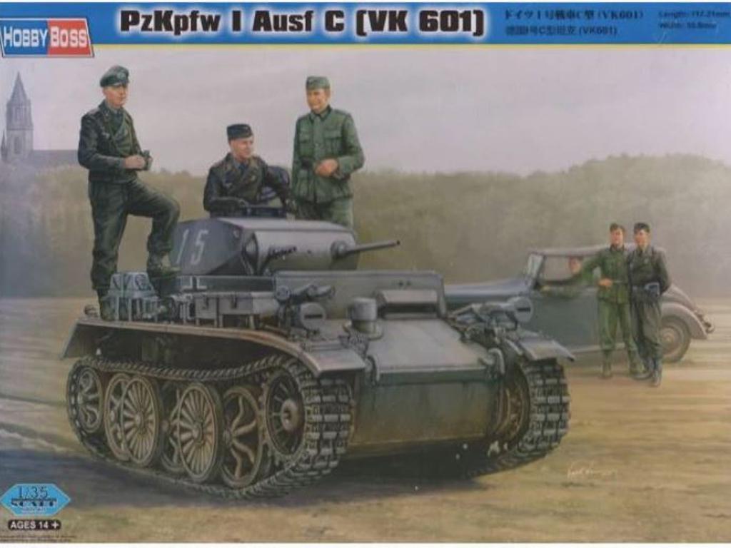 German Panzer I Type C (VK601)  (Vista 1)