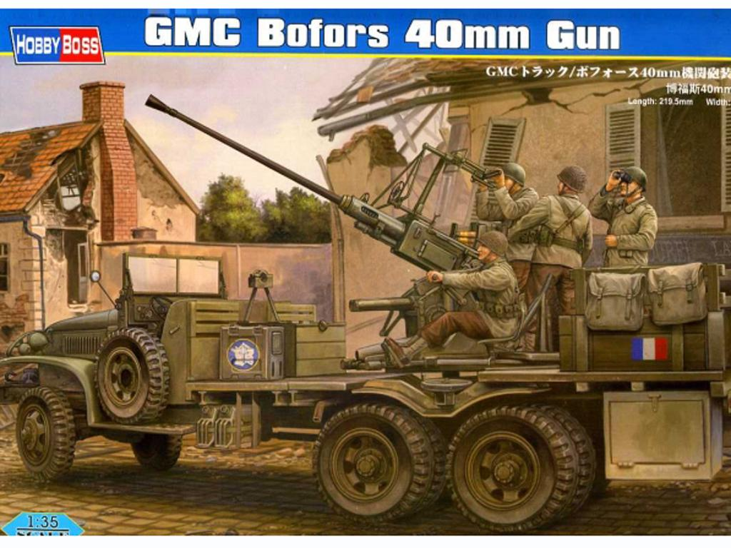 GMC Truck w/Bofors 40mm Machine gun (Vista 1)
