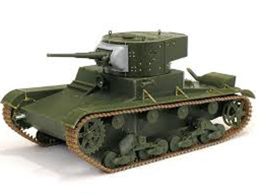 Soviet T-26 Light Infantry Tank Mod.1935 (Vista 4)