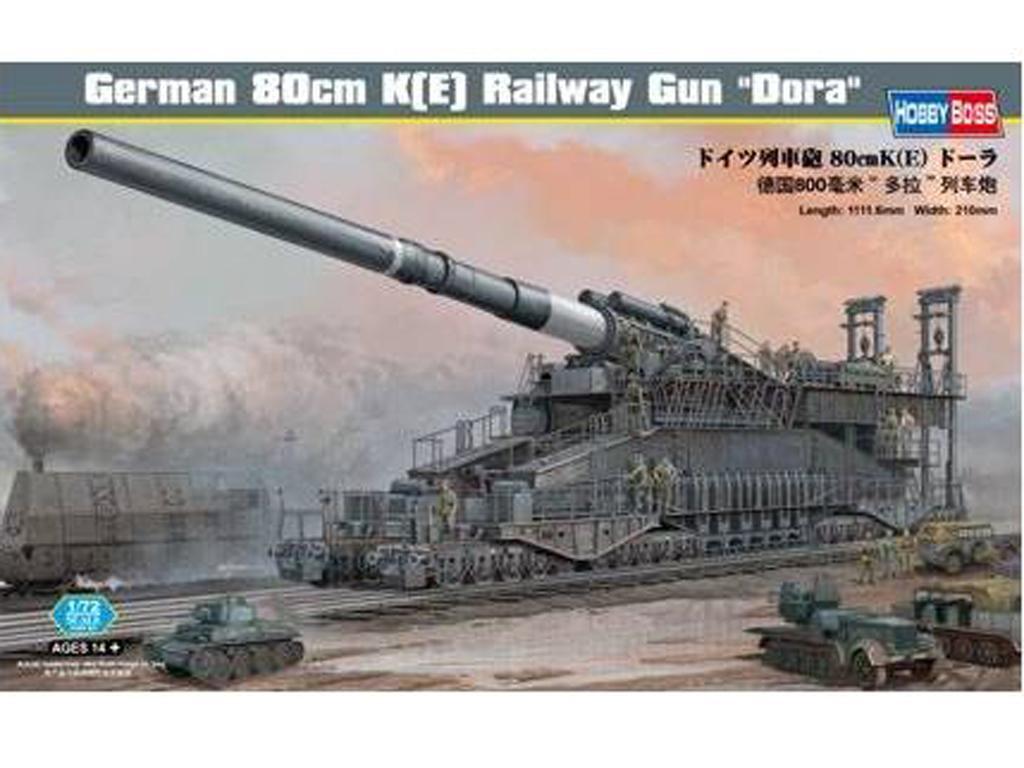 German 80cm K(E) Railway Gun  (Vista 1)