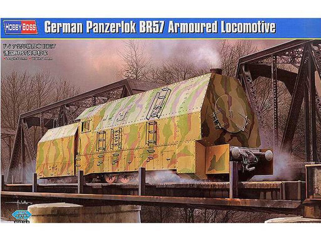 Locomotora blindada alemana BR57 (Vista 1)