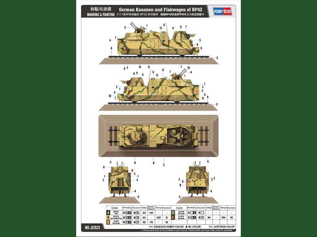German Kanonen und Flakwagen of BP42 (Vista 3)