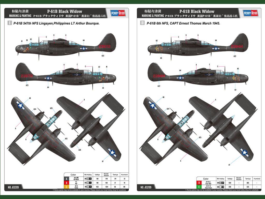 P-61B Black Widow (Vista 2)