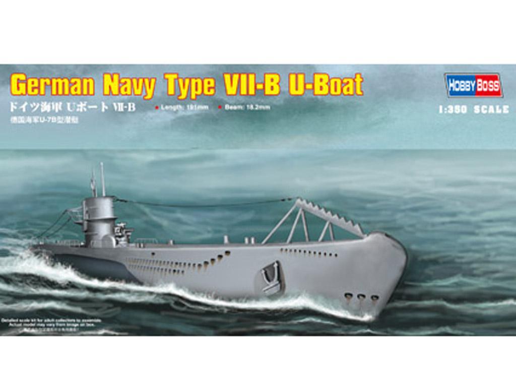 Submarino Aleman Type VII-B U-Boat (Vista 1)