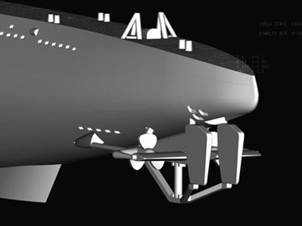 Submarino Aleman Type VII-B U-Boat (Vista 2)