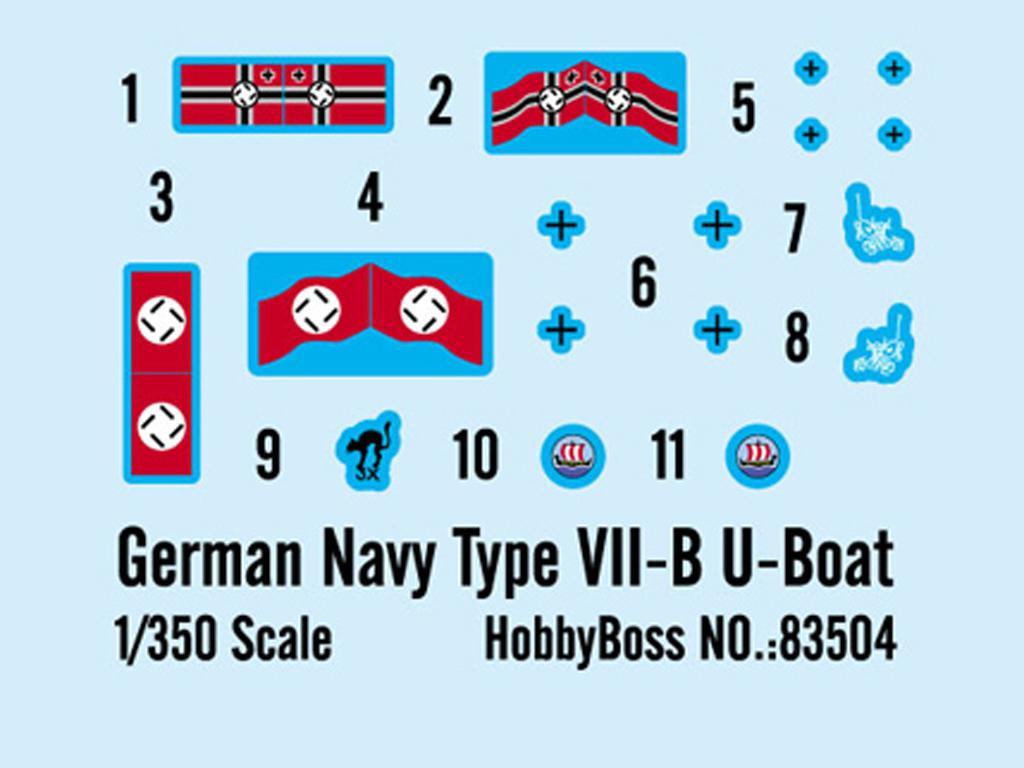 Submarino Aleman Type VII-B U-Boat (Vista 3)