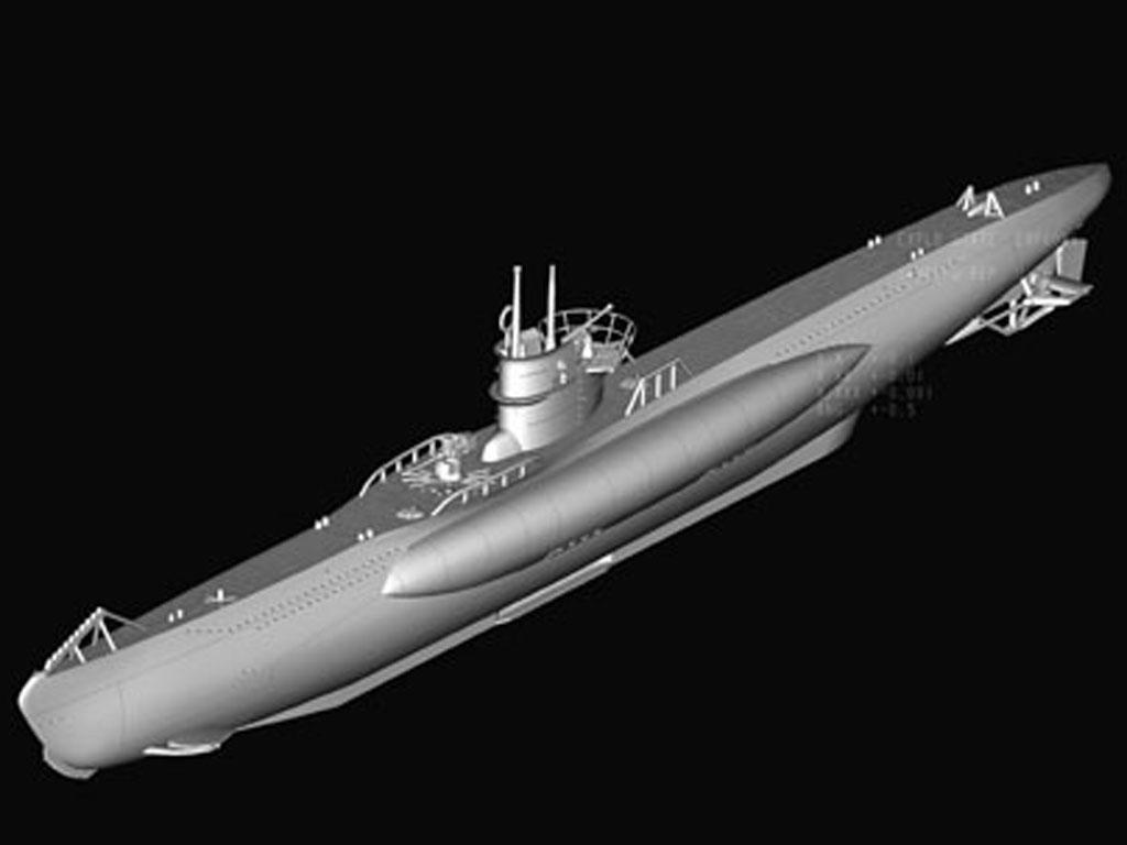 Submarino Aleman Type VII-B U-Boat (Vista 4)