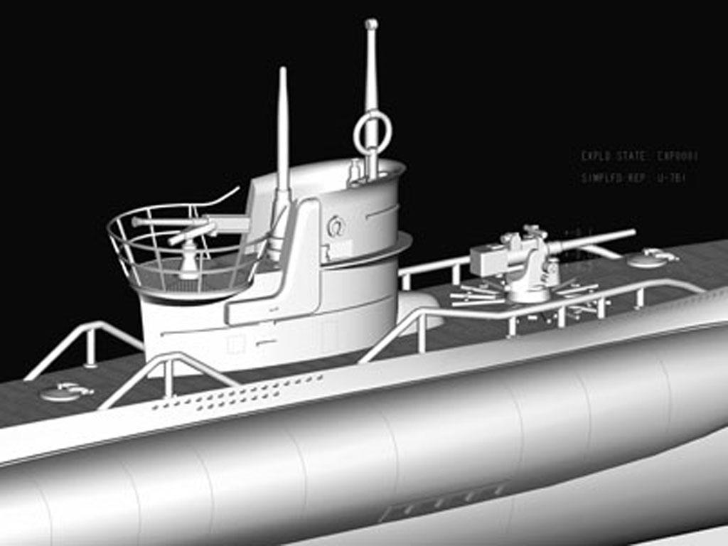 Submarino Aleman Type VII-B U-Boat (Vista 5)
