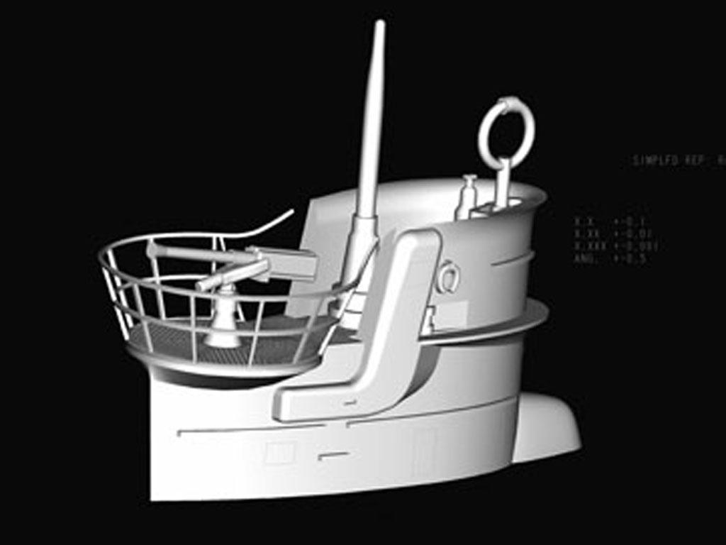 Submarino Aleman Type VII-B U-Boat (Vista 6)