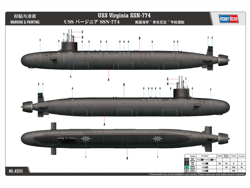 USS Virginia SSN-774 (Vista 2)