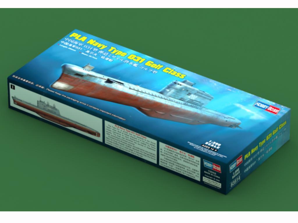 PLA Navy Type 031 Golf Class (Vista 1)