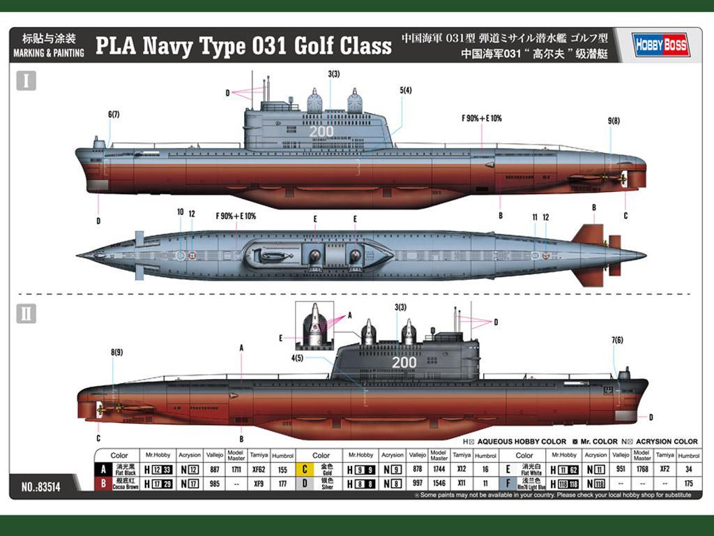 PLA Navy Type 031 Golf Class (Vista 2)