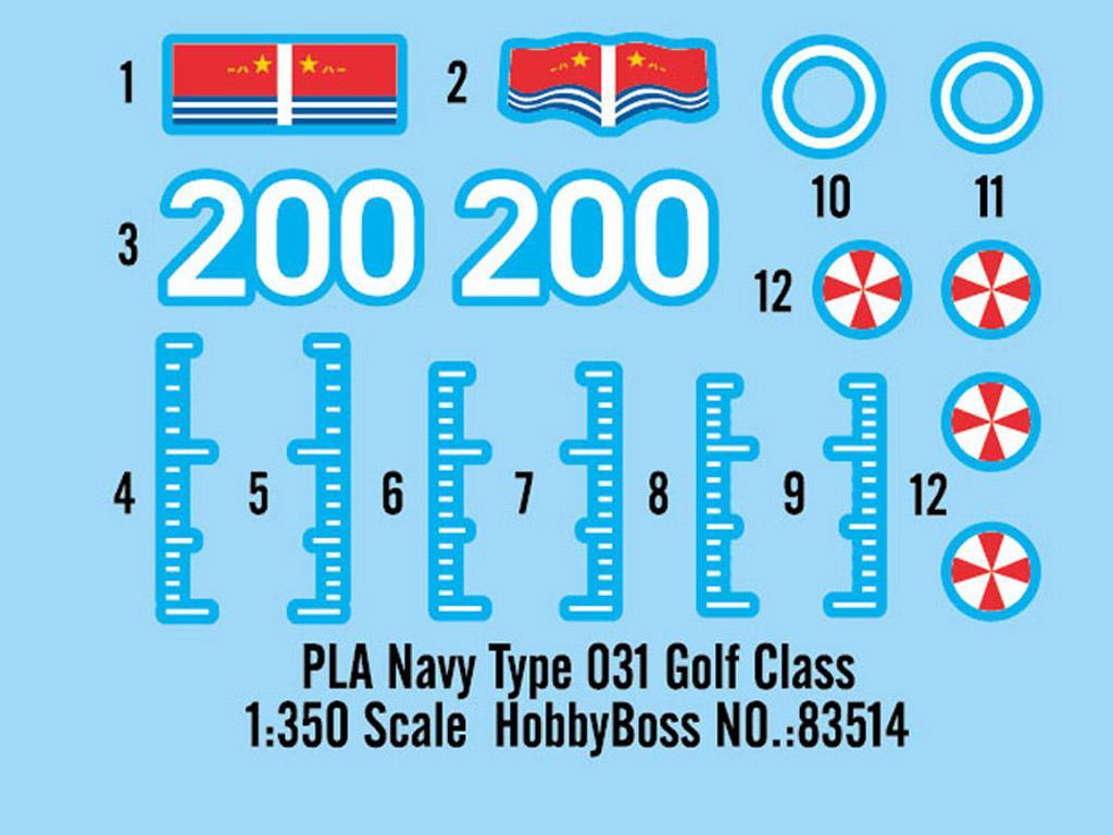 PLA Navy Type 031 Golf Class (Vista 3)