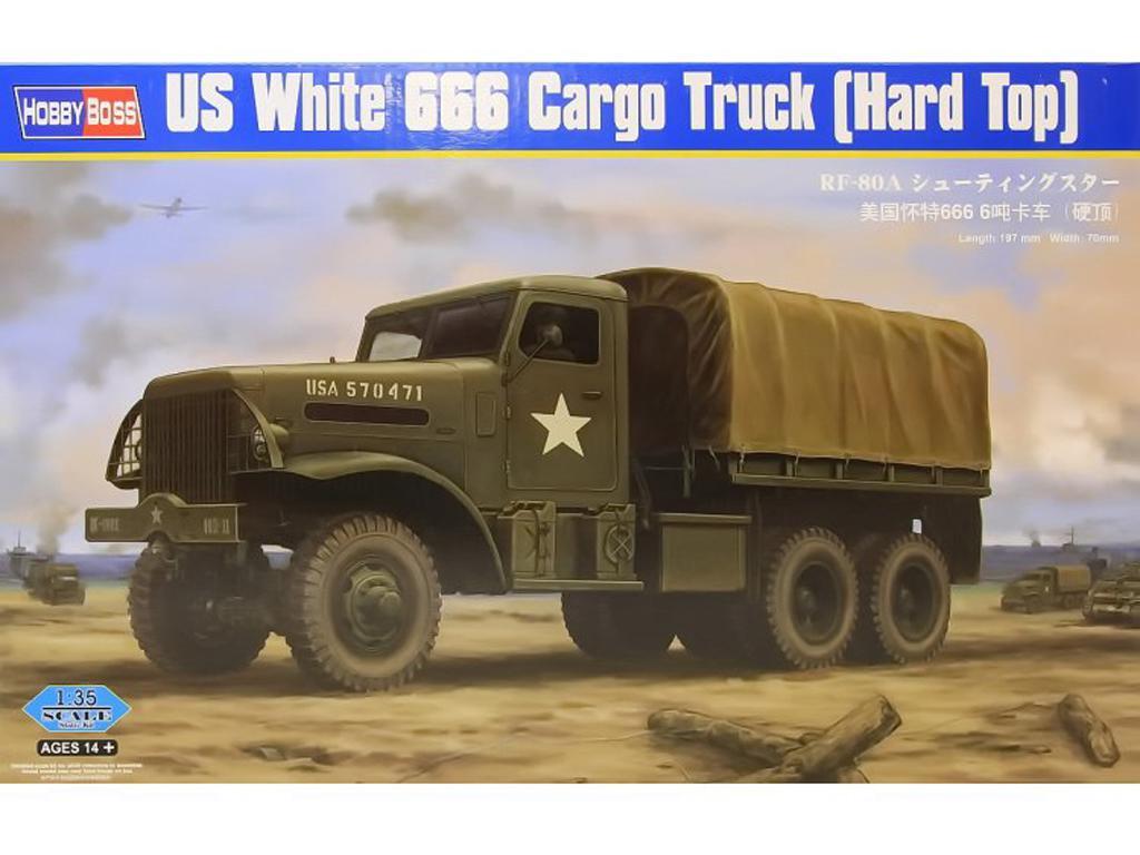 Camión pesado americano White 666 (Vista 1)