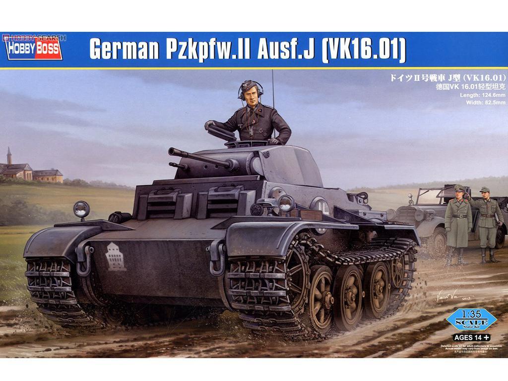German Pzkpfw.II Ausf.J (VK1601) (Vista 1)