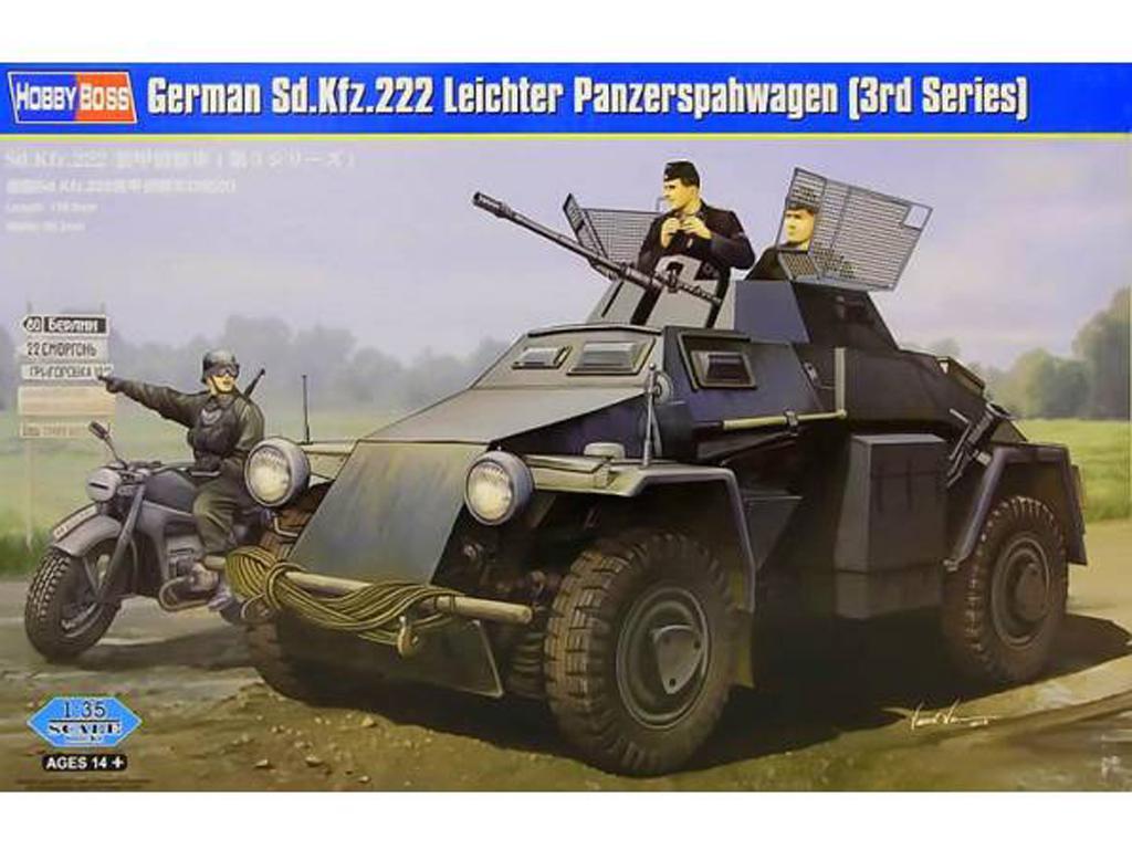 Blindado alemán Sd.Kfz.222 (Vista 1)